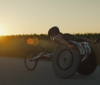 "BMW Performance Wheelchair ""Built For Gold"""